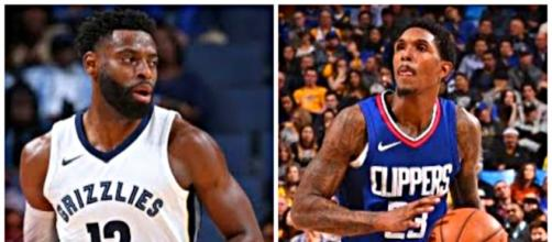 Tyreke Evans and Lou Williams could change teams after the trade deadline. – [image: NBA.com Ximo / YouTube screencap]