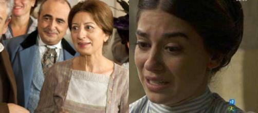 Una Vita anticipazioni: l'addio di Paciencia, Teresa incastrata