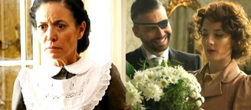 Una Vita: Fabiana rapita, Felipe e Celia di nuovo sposi