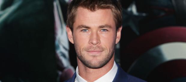 Chris Hemsworth, o ator que interpreta o herói Thor