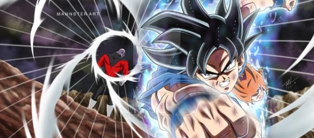 Goku Ultra Instinct vs Jiren! by MahnsterArt on DeviantArt - deviantart.com