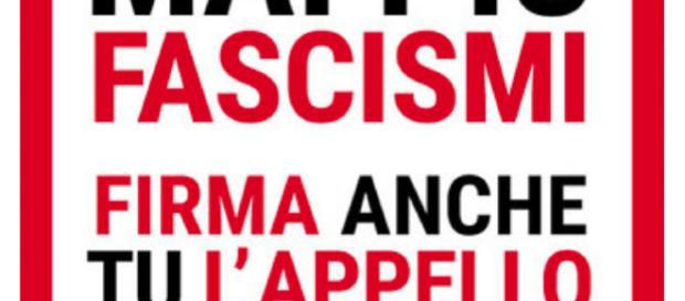 Al via la raccolta firme per dire no ai fascismi.