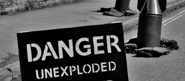 Unexploded Bomb [Image credit: - Public Domain | Pixabay