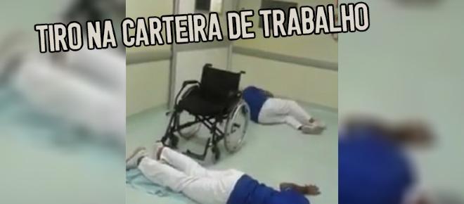 Funcionários são demitidos por dançar 'Que tiro foi esse' dentro de hospital