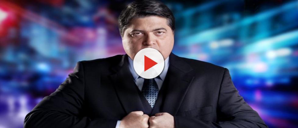 Datena nega candidatura e ainda critica Huck: 'Ninguém da TV tem condições'