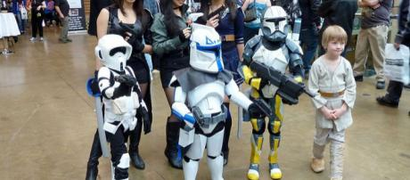 Children cosplaying characters from Star Wars series (Image credit – Gabbo T, Wikimedia Commons)