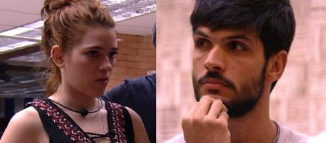 Lucas indica Família Lima e ganha outra inimiga na casa. (Foto Reprodução).