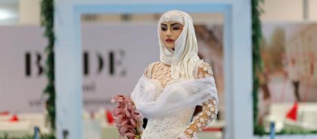 Pastel del Bride Show en Dubai. REUTERS/Ahmed Jadallah