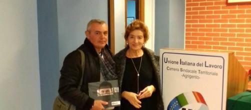 Calogero Speziale e Linda Bellia