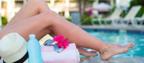 Cremas hidratantes para cuidar la piel del sol. - depositphotos.com
