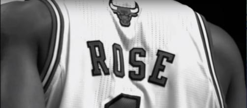 Derrick Rose (Image Credit: xfactor541/YouTube screen-cap)
