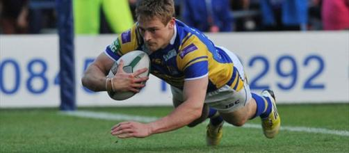 Jimmy Keinhorst scored a hat-trick in Thursday's victory over Hull KR. Image Source - eurosport.com