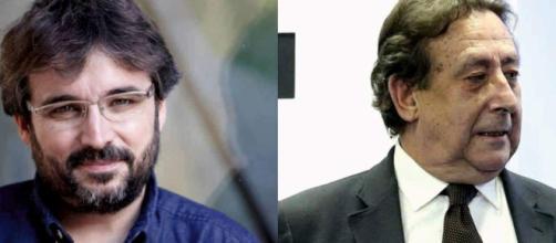 Jordi Évole y Ussia en imagen de archivo