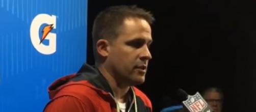 Josh McDaniels turned down the Colts' head-coaching post. - [Image Credit: MassLive / YouTube screencap]