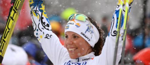 La première médaille d'or pour Charlotte Kalla