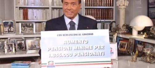 Riforma Pensioni 2018, Berlusconi: revisione legge Fornero e minime a mille euro al mese
