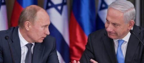 Russia-Israele, telefonata tra Putin e Netanyahu.