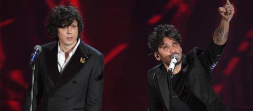 Ermal Meta e Fabrizio Moro, i vincitori di Sanremo 2018.