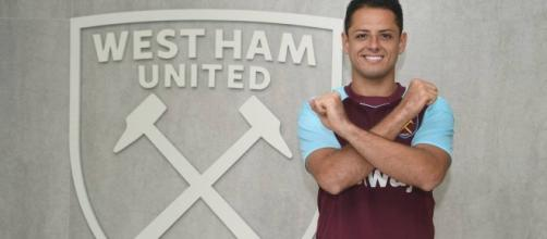 VIDEO: 'Chicharito' ya anotó su primer golazo con el West Ham ... - com.mx