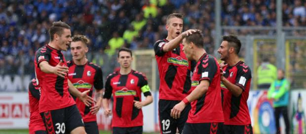 Der SC Freiburg stellt 21 deutsche Spieler (Quelle: kicker.de)