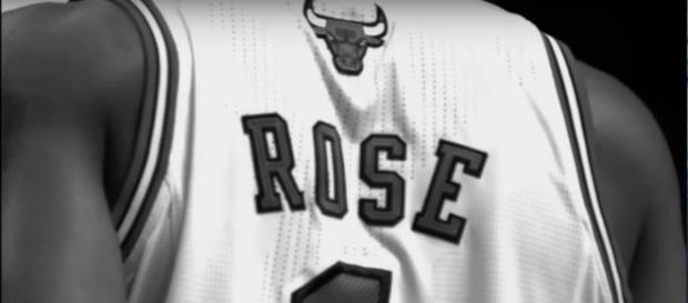 Derrick Rose (Image Credit: xfactor541/YouTube screen-cap)