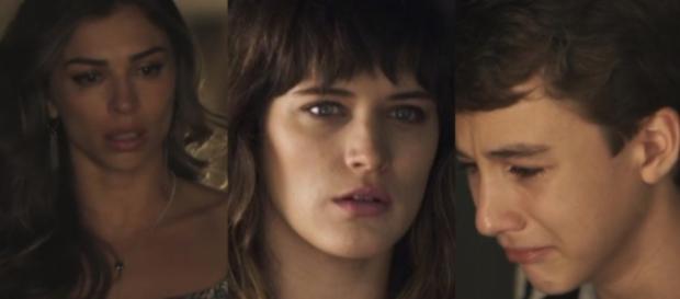 Em novela das nove, Lívia se sentirá humilhada por Tomaz e cena emocionará.