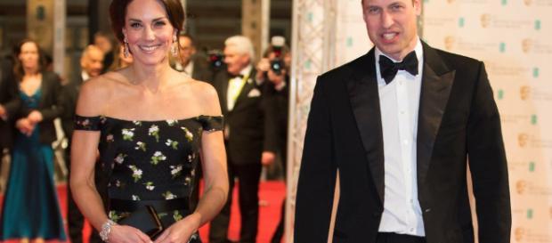 Kate Middleton et le Prince William aux BAFTA Awards 2017 ... - popsugar.fr