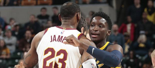 LeBron has Larry and Victor's back - (Image: YouTube/NBA)