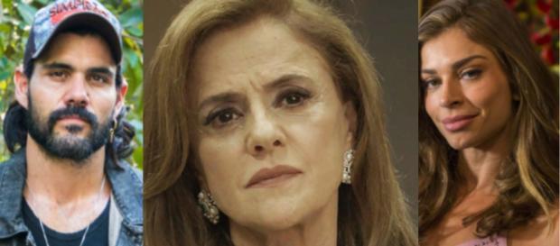 Sophia manda Mariano e Lívia para a prisão em O Outro Lado do Paraíso (Foto: TV Globo)
