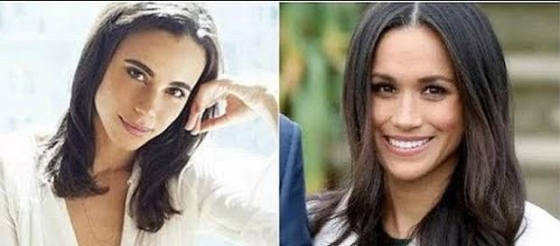Which one is Meghan Markle, and which one is the character in upcoming movie? [Image: FFTRM NEWS/YouTube screenshot]