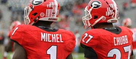 The Bulldogs will have two runners turn pro this April. [Image via DawgNation/YouTube]