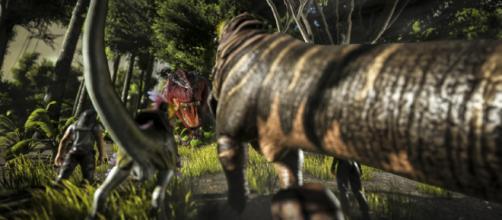 'ARK's' Dino TLC. [image source: YouTube/ARK: Survival Evolved]