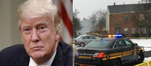 Donald Trump, Ohio shooting, via Twitter