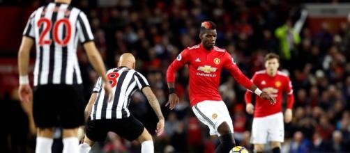 El gol de Matt Ritchie en la segunda mitad aturde al Manchester United