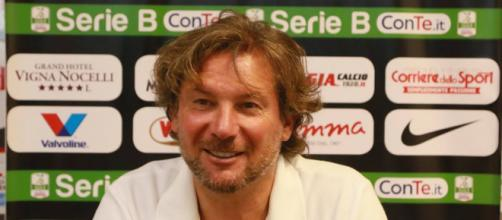 Giovanni Stroppa, allenatore del Foggia Calcio.