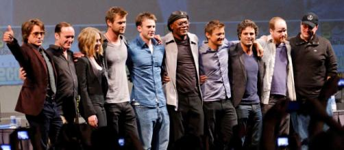 'Avengers: Infinity War' [Image via: The_Avengers_Cast_2010_Comic-Con.jpg at Wikimedia Commons]
