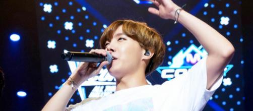 Jung Hoseok (J-Hope) of BTS performing onstage. (Photo via: Wikimedia Commons)