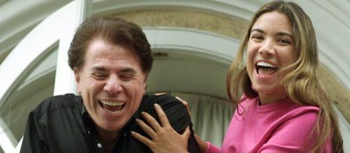 Patrícia Abravanel foi sequestrada e Silvio Santos ficou na mira do criminoso (Foto: Paulo Whitaker)