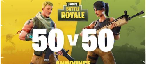 TGA2017: Fornite Battle Royale lanza un modo 50 vs 50 - Top10Games - top10games.es
