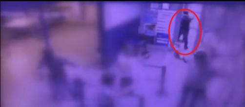 Vídeo mostra assalto a lotérica que terminou com um bandido morto.