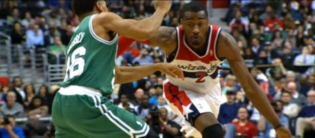 All-Star point guard John Wall is still out for the Washington Wizards -- NBA via YouTube