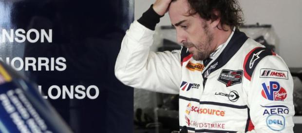 Alonso en las 24 horas de Daytona