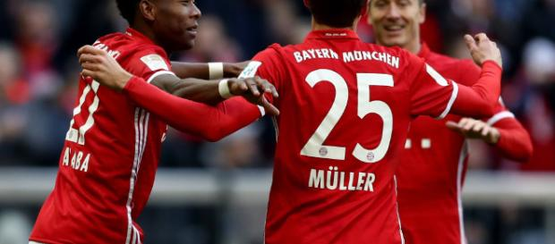 Bayern München x Hamburger SV - 1. Bundesliga 2016/2017 ... - ceroacero.es