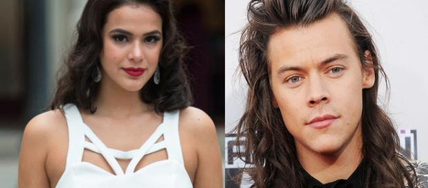 Bruna Marquezine e Harry Styles