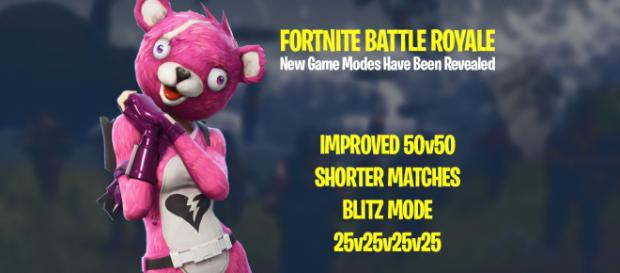 "New ""Fortnite"" Battle Royale modes have been revealed. Image Credit: Own work"