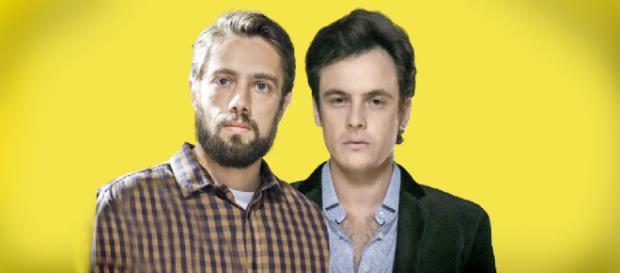 Os personagens Renato e Gael são irmãos na novela O Outro Lado do Paraíso (Imagem/Guia da TV)