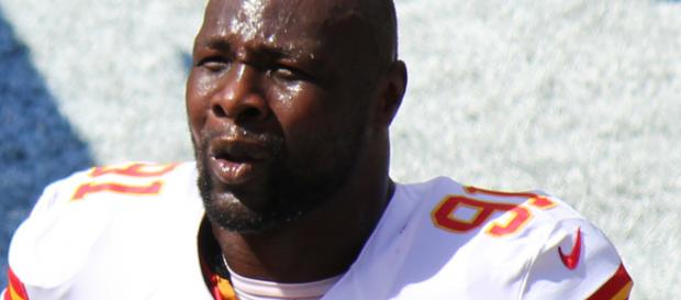 Chiefs LB Tamba Hali : (photo credit to Jeffrey Beall)