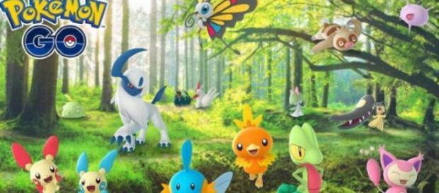 Pokemon Go released new Gen 3 Pokemon. [Image Credit : Dave Thier / YouTube Screenshot]