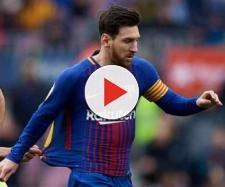 Leo Messi saiu muito incomodado da partida com o Getafe