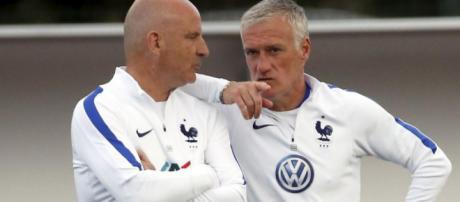 Equipe de France : Deschamps lutte contre les éléments - Le Parisien - leparisien.fr